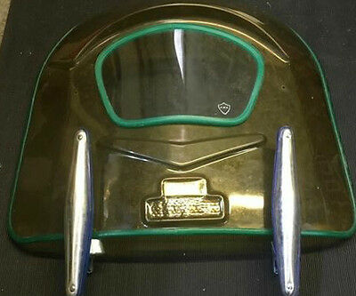 Original Cuppini Fly Screen with brackets for open handlebar early scooters, NOS