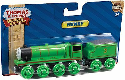 Fisher Price Thomas & Friends Wooden Railway Henry Train Brand New Y4072