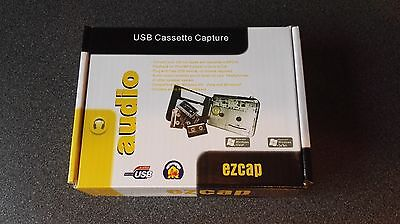 USB CASSETTE CAPTURE ezcap BRAND NEW and boxed
