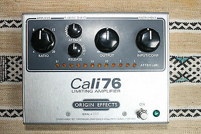 Origin Effects Cali76 TX Transformer Version Limiting Amplifier 1176 Compressor