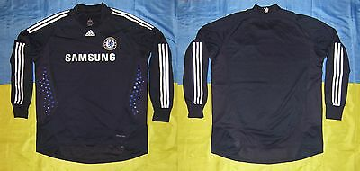 ● Rare Issue Fc Chelsea Black Jersey Adidas Formotion Size Men Adult Xl ●