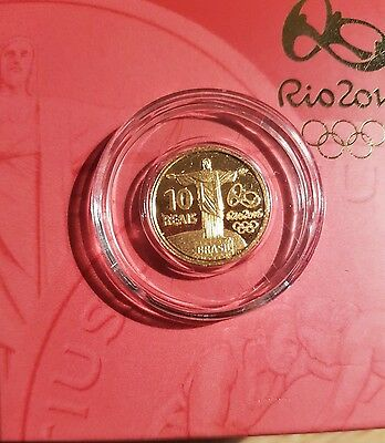 Commemorative Gold coin Rio 2016 Olympic Games