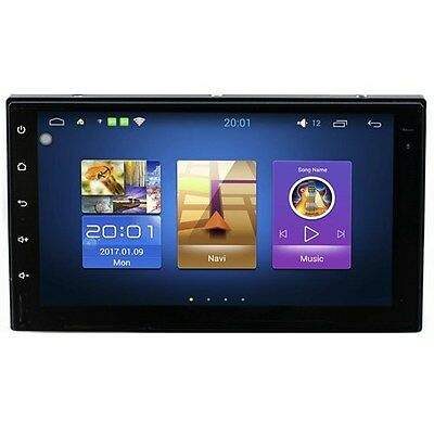 """AUTORADIO 2 din Android 6.0 universale 7"""" Full touch Navigatore Gps Radio RDS"""