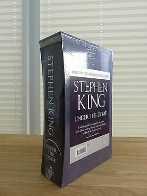 Under the Dome by Stephen King (Hardback, 2009) signed numbered 1st edition