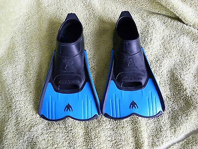 Boys Cressi Swimming Fins/Flippers Size 12 to 13 (Kids)