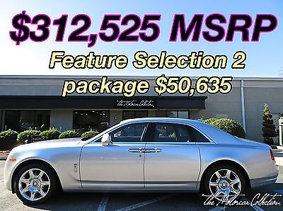 2012 Rolls-Royce Ghost  MSRP $312,525.00 1-OWNER CLEAN CARFAX CERTIFIED! 404-230-1984
