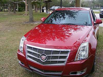 2009 Cadillac CTS Premium Sedan 4-Door The highly-ranked 8.9 out of 10 and has a comfortable, yet very sporty fun feel!