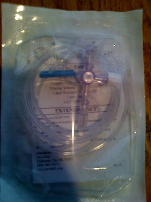 Mini-Bore IV I.V. Ext. Extension set administration admin infusion tubing