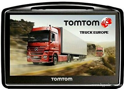 TomTom Truck Bus Van Europe Coverage of 45 countries Sat Nav IQ routes +