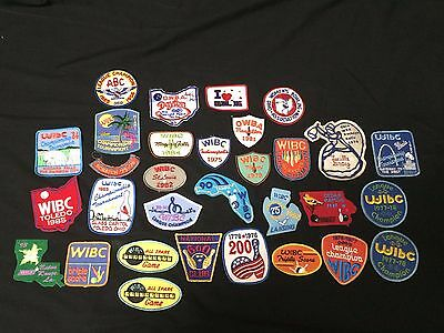 Vintage Lot 31 Award & Souvenir Womens' Bowling Patches 1970's 80's 90's one 50s