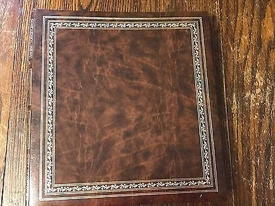 """UNUSED Vtg KMart Reflections Self-Adhesive Photo Album 40 pages holds 8""""x 10"""""""