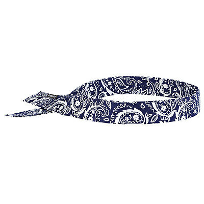 Chill-Its 6705 Evaporative Cooling Bandana - H & L Navy Western