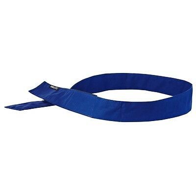 Chill-Its 6705 Evaporative Cooling Bandana - H & L Solid Blue