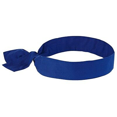 Chill-Its Evaporative Cooling Bandana with Tie Closure, Blue
