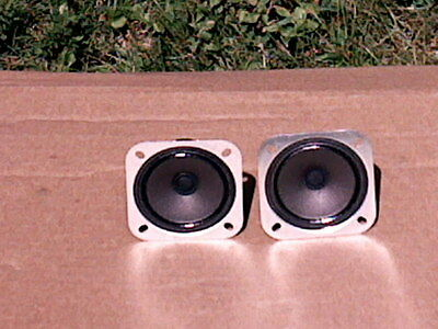 "A  Pair of 8 0hm Vintage Magnavox  2 3/4"" Tweeters In Good Condition!"