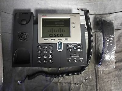 Cisco 7942 Unified IP Business Phone VoIP IP Telephone CP-7942G defaulted