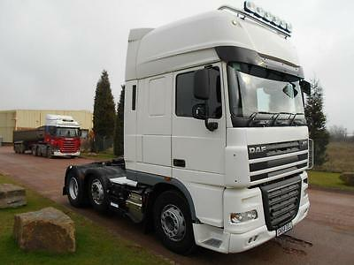 2008 (58) DAF TRUCKS XF 105 460 Super Space Cab 6x2 Midlift Axle Tractor Unit,