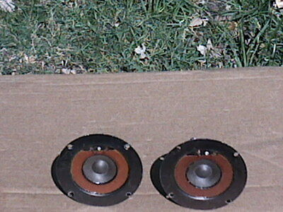 "One Pair Of 8 ohm Vintage 4 1/4"" marantz Dome Tweeter in good condition"