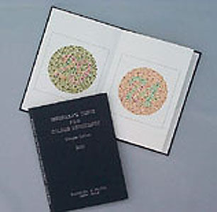 Ishihara's Test For Colour Deficency - Concise Edition 2010 - 14 Plates