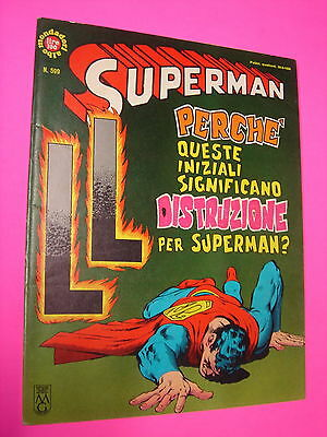 SUPERMAN Mondadori ALBI DEL FALCO  n. 599 originale BELLO