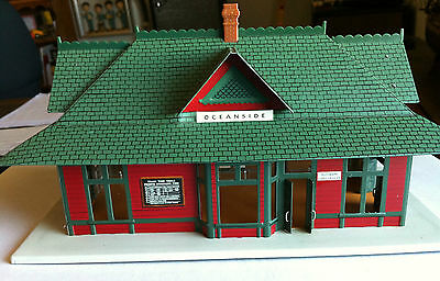 Vintage NIB Great American Railway Oceanside Depot