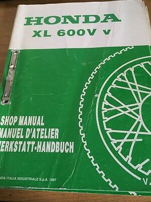Honda XL600V Transalp Workshop Manual Addendum