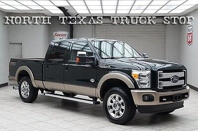 2012 Ford F-250  2012 Ford F250 Diesel 4x4 King Ranch FX4 Navigation Sunroof Cooled Seats
