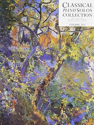 Partition pour piano - Classical Piano Solos Collection Volume 10