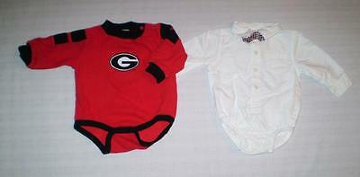 (2) Baby Boys Rompers 3-6m *G