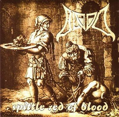 """BLOOD: Spittle Red Of Blood (1994) 7"""" Green Vinyl EP"""