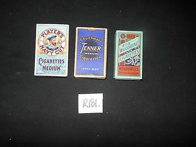 R181C ----Empty Cigarette Packets with slides.---For Sale in the UK ONLY