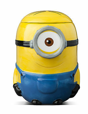 Minions Sweets And Treats Cookie Ceramic Jar Despicable Me Novelty