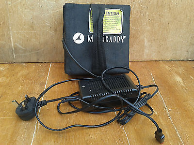 Lithium 18 Hole Battery And Charger In Motocaddy Bag