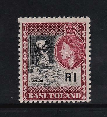 Basutoland 1961/63, LH/Mint 1Rand Definitive Stamp.