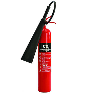 New Premium 5KG Carbon Dioxide(CO2) Fire extinguisher -Class B/Electrical Fires