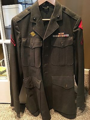 USMC WWII Named 4th Marine Division Uniform Iwo Jima