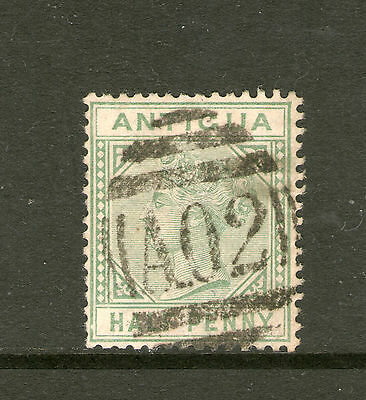 Antigua 1882, F/Used 1/2d Definitive Stamp.