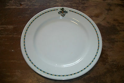 Syracuse China hotel restaurant ware plate Mountain View House Whitefield NH adv