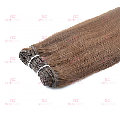 Russian Mongolian Weft/Weave Double Drawn Hair Extensions - Base Colours