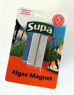 Supa Small Aquarium Algae Magnet Fish Tank Glass Scrubber Magnetic Cleaner