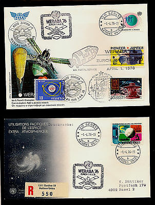 Internationaux Suisse (C23) Weraba 1976 Oblit. Us, Urss, Onu