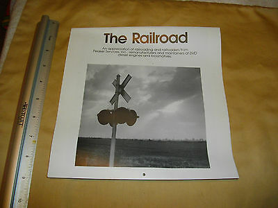 the railroad peaker services, inc 1986 calender