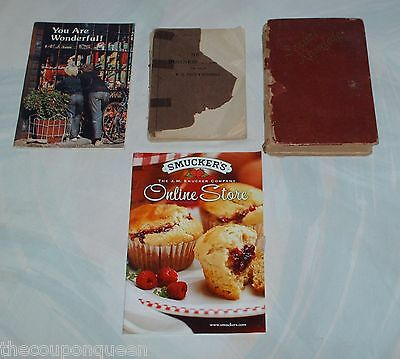 Lot Junk Box Books and Booklets (Estates) Hardcover & Paperback
