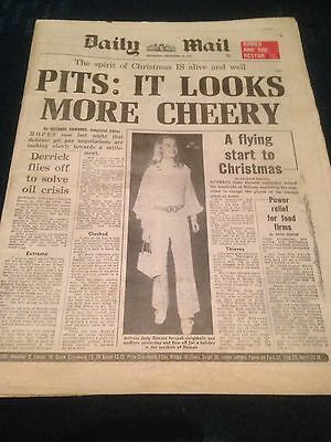 Vintage Daily Mail 22.12.73 Judy Greeson/Billy Bingham Arsenal Article