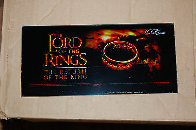 Las Vegas Slot Glass Lord Of The Rings, The Return Of The King.