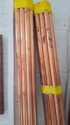 Bundle of 10 Pipes - 22mm x 3m Copper Pipe British Standard