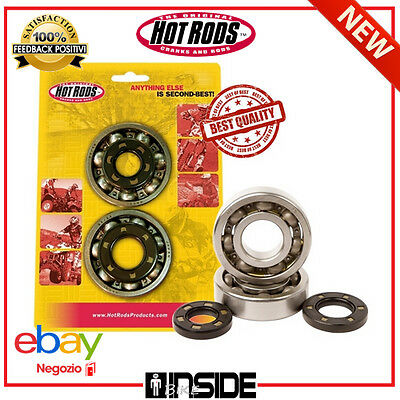 Kit Cuscinetti Banco E Paraoli Hot Rods Per Honda Cr 125R 90 - 07 K002