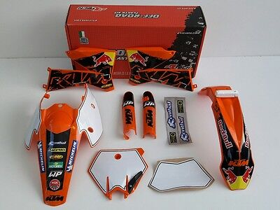 New 2005 2007 Ktm Exc Sx 125 200 250 300 400 450 Plastics And Graphics Package