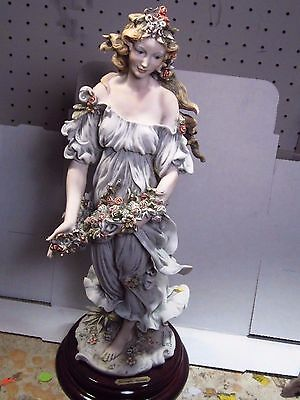 Armani 1994 Collector's Society FLORA Woman & Flowers  14""