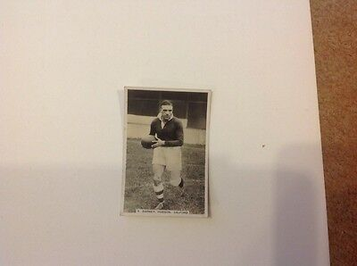 No 80 Sporting Events and Stars card of Barney Hudson Salford